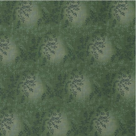 108 Quiltback Tonal Vine Dark Green
