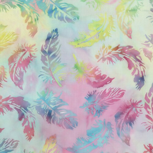 Blossom Batiks- Cascade- Feathers- Unicorn