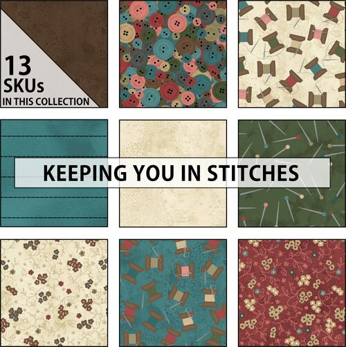 Keeping You In Stitches - 2.5 Strips