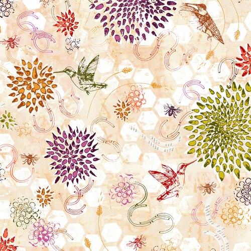 Pollinator Dance - Dawn Yardage