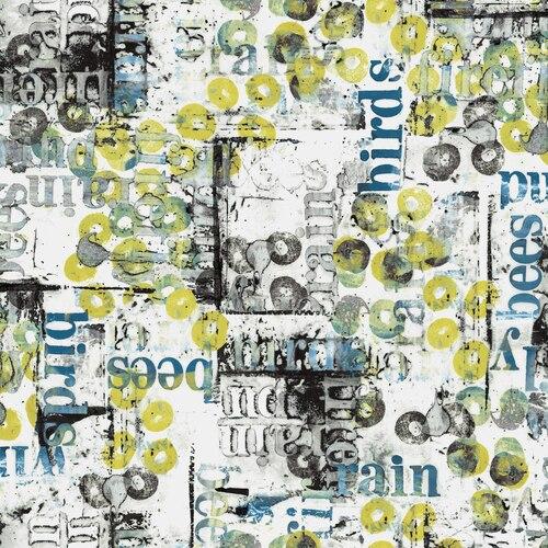 LT302 SU1 Pollinator by Leslie Tucker Jenison for RJR Fabrics. 100% cotton 43 wide
