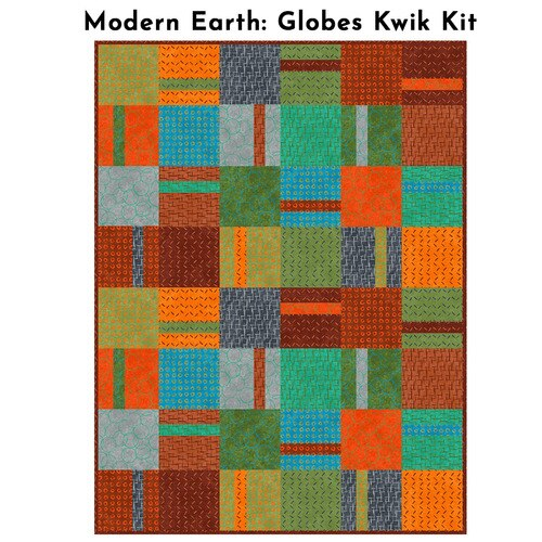 Modern Earth - Globes Kwik Kit - Multi