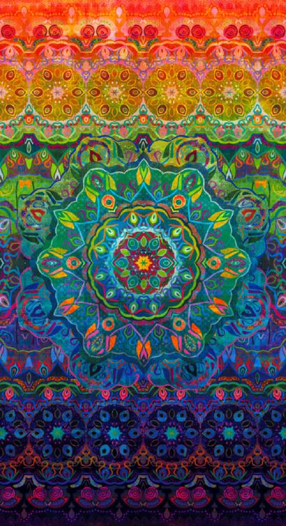 Flourish - Woven - Multi - Panel