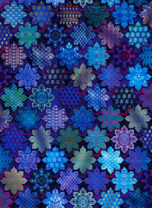 Flourish - Tiles - Sapphire