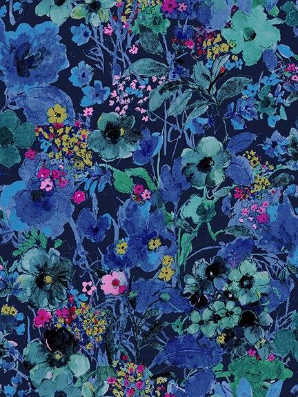 RJR Bloom Bloom Butterfly Moonlit Blooms in Midnight