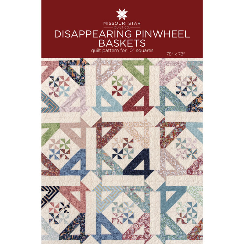 Disappearing Pinwheel Baskets by MSQC