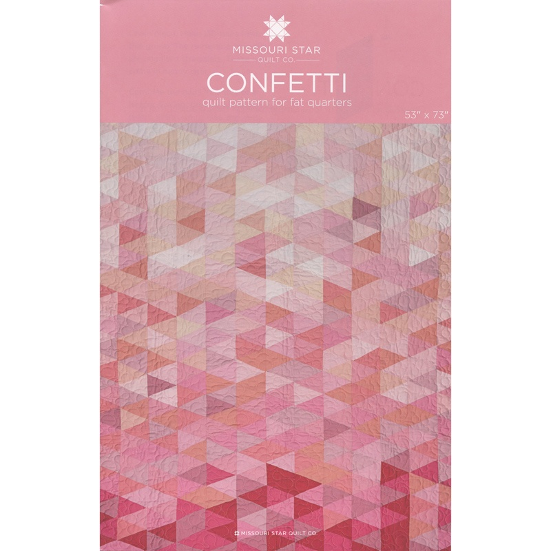 Confetti Quilt Pattern by MSQC