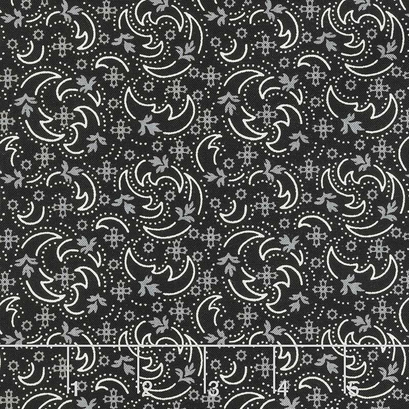 Blackwood Cottage - Crescent Swirl Black  *SALE*