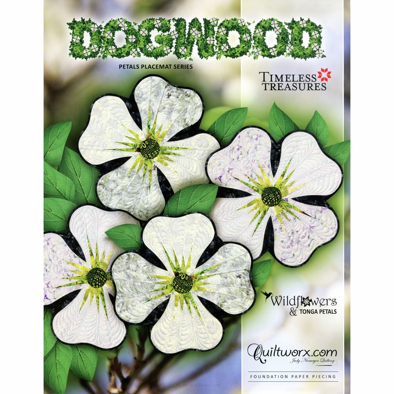 Dogwood Petals Place Mat Pattern