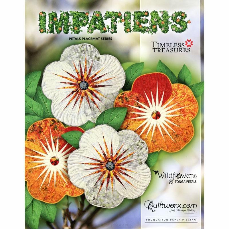 Impatiens Petals Place Mat Pattern