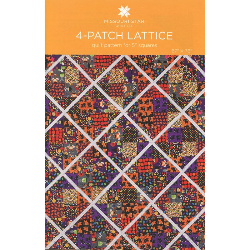 4-PATCH LATTICE QUILT PATTERN
