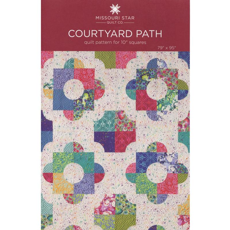 Courtyard Path Quilt Pattern by Missouri Star