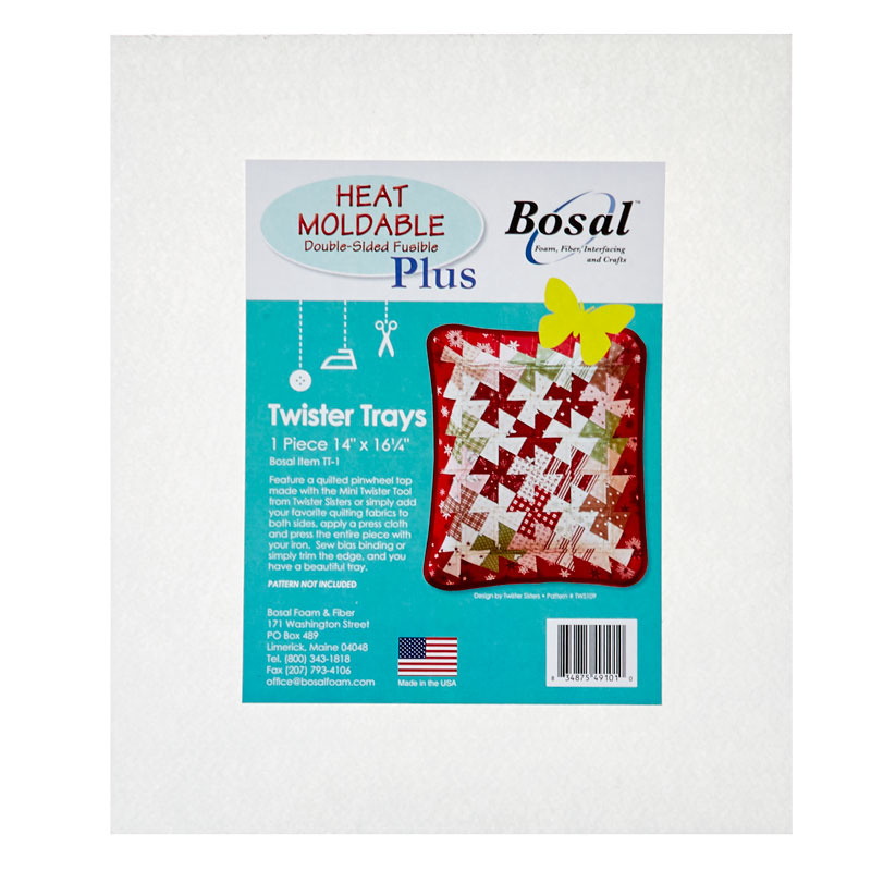 Bosal Heat Moldable Plus Double-Sided Fusible