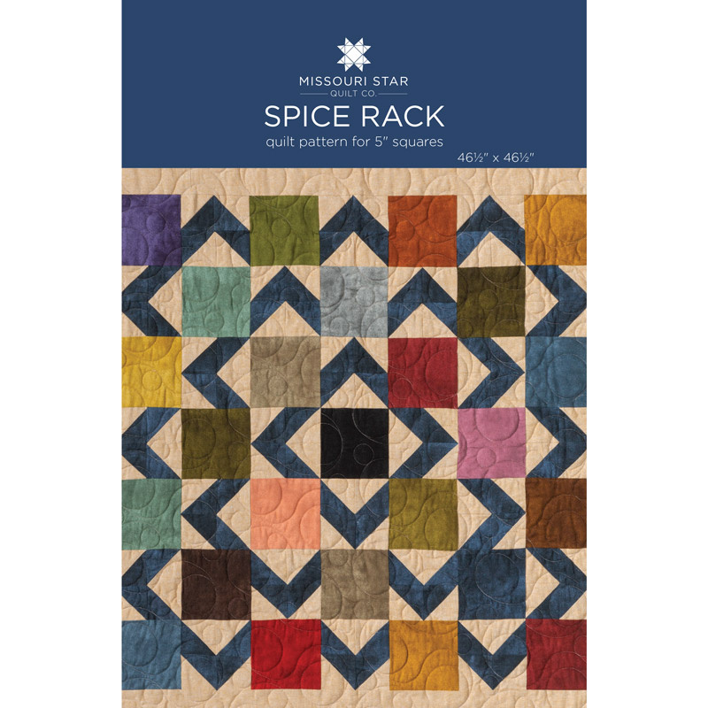 Spice Rack Quilt Pattern by Missouri Star