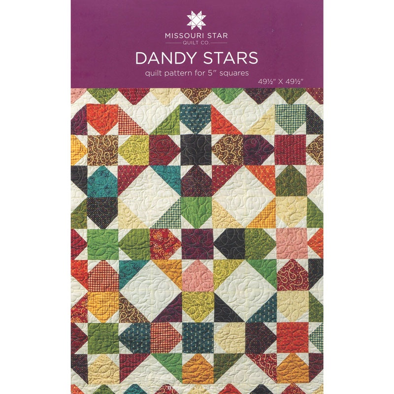Missouri Star Quilt Co. Dandy Star Pattern