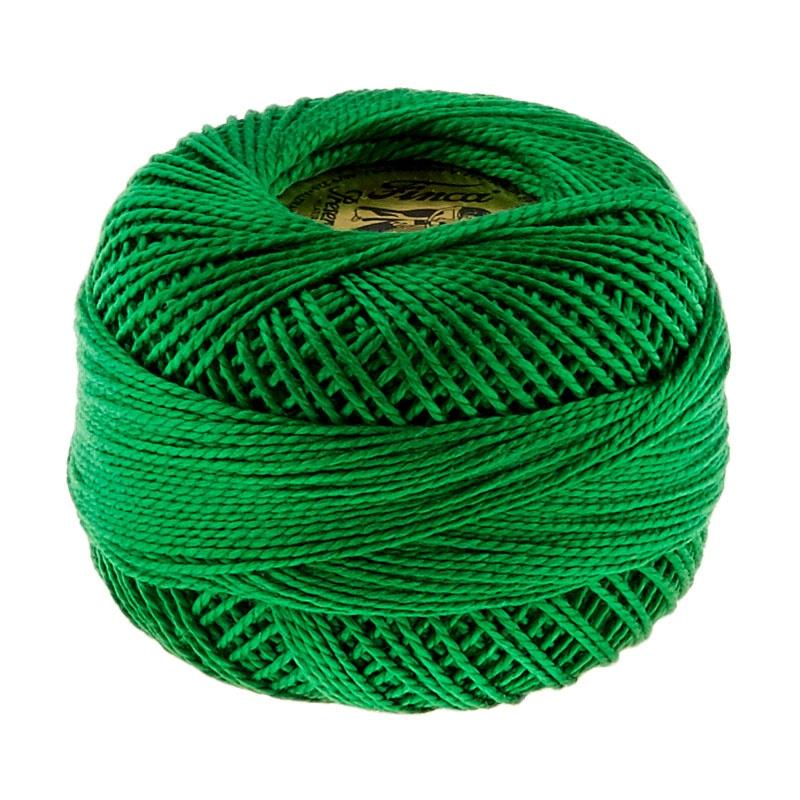 Finca Perle Cotton- Size 8 Green