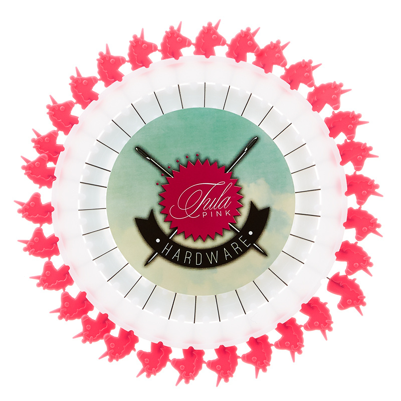 Tula Pink Unicorn Pins - 30 Count