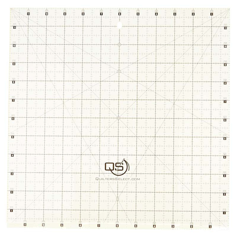 Quilter's Select 12 x 12 Ruler