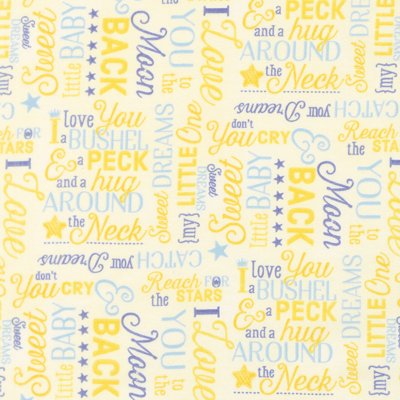 WILMINGTON TO THE MOON AND BACK YELLOW BACK/WORDS 82460
