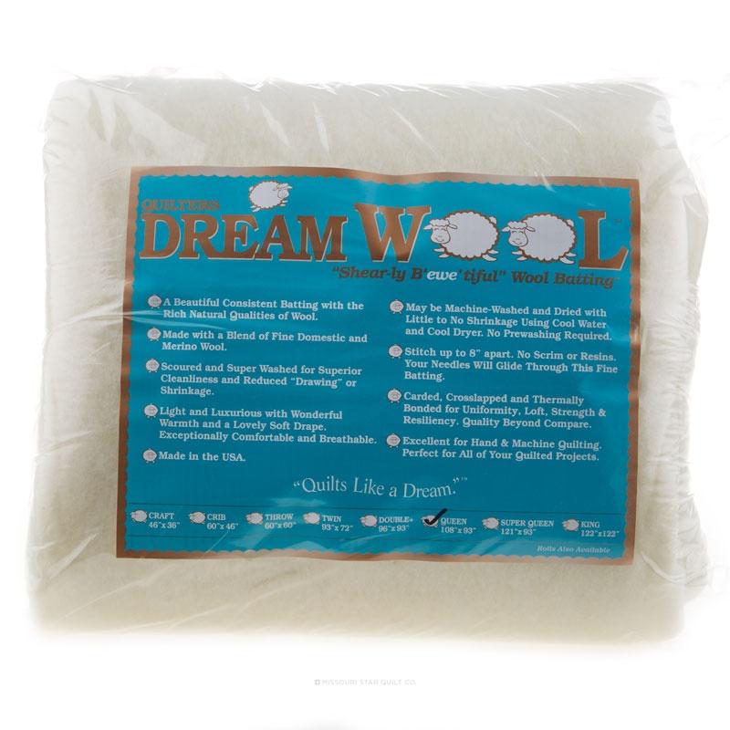Quilter's Dream Wool Queen Batting