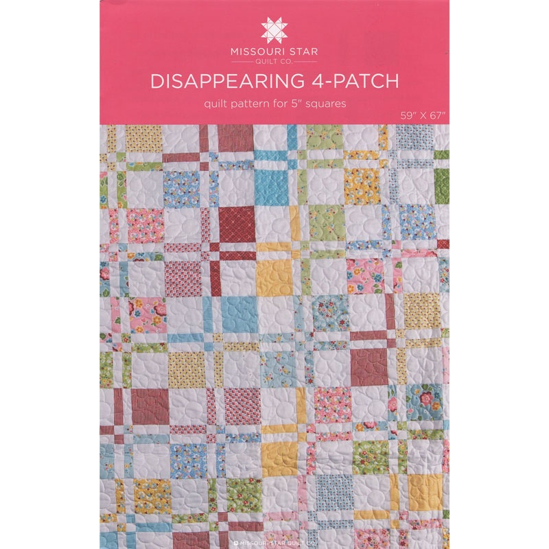Disappearing 4-patch Quilt Pattern
