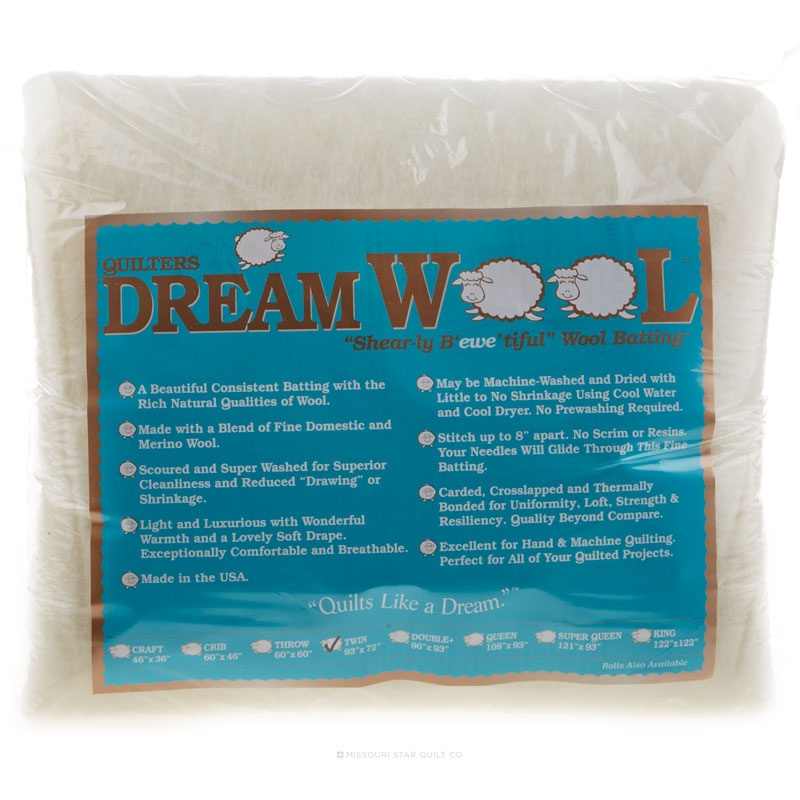 Quilter's Dream Wool Twin Batting