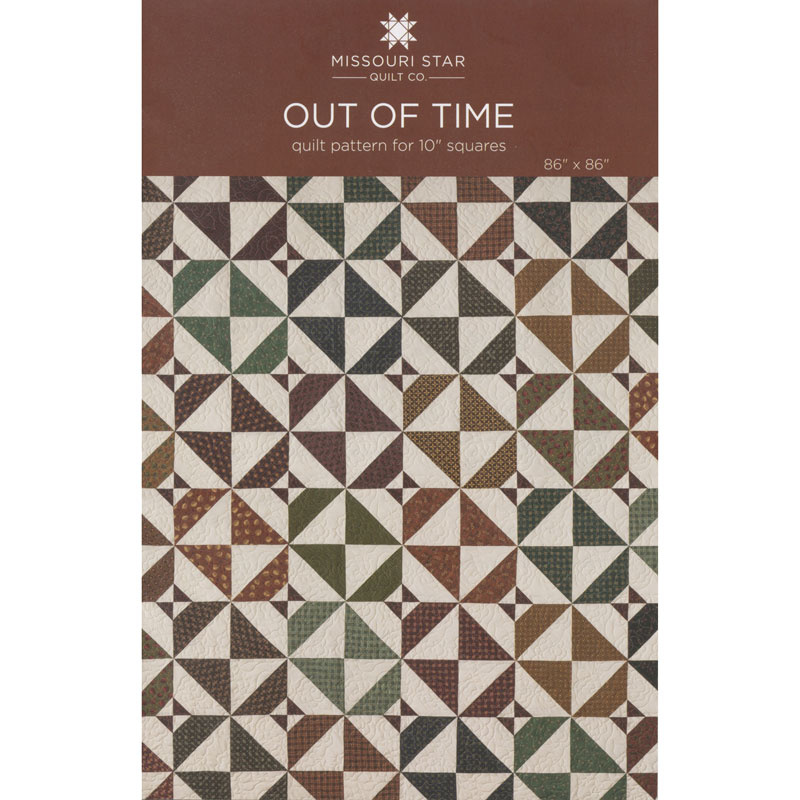 Out of Time Quilt Pattern by Missouri Star