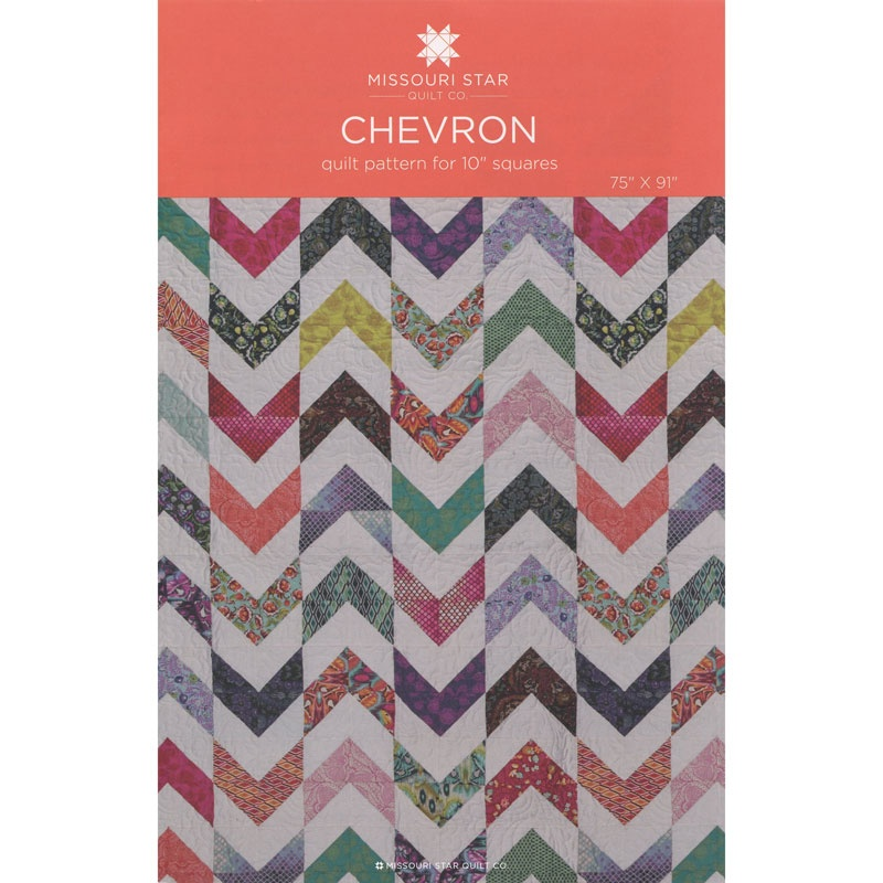 Chevron Quilt Pattern by MSQC