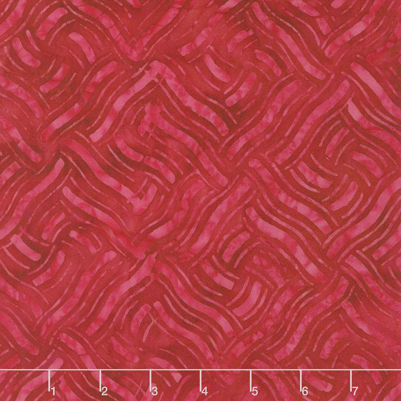 Knit Tonga Batik - Red