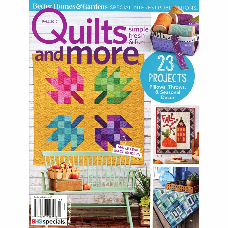 *Quilts and More Fall 2017