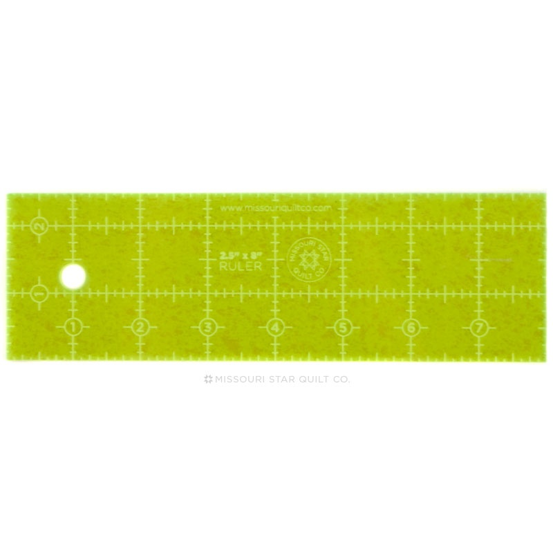 2.5 x 8 Quilting Ruler