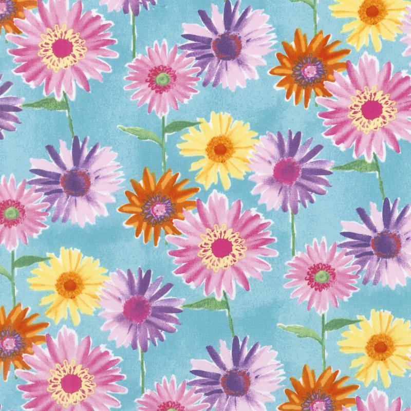 Bloom Bouquet - Daisies Blue