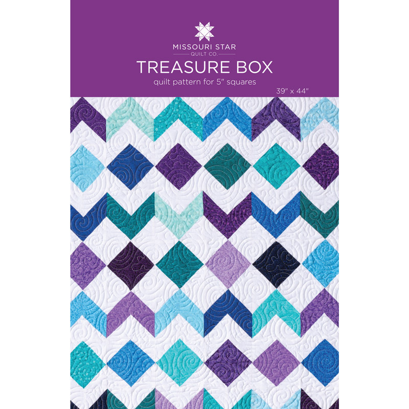 Treasure Box Quilt Pattern by MSQC