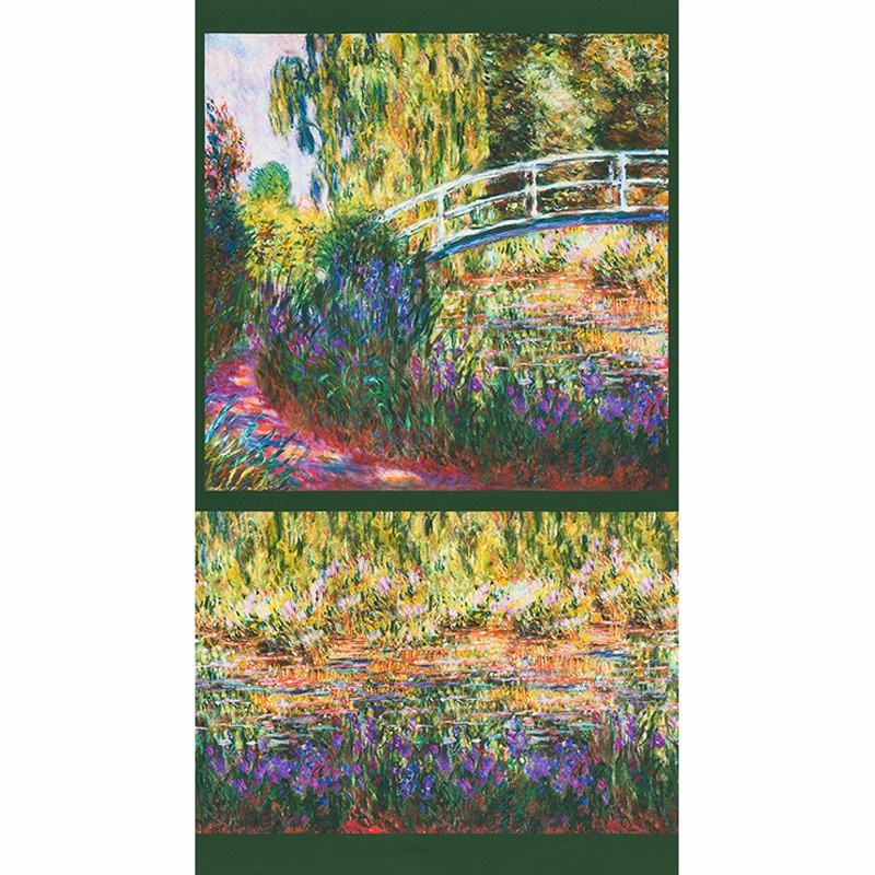 Claude Monet - Bridge Garden Digitally Printed Panel