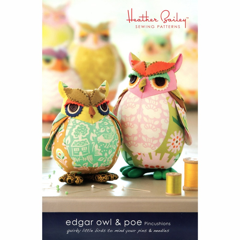 Edgar Owl Pincushion - Heather Bailey