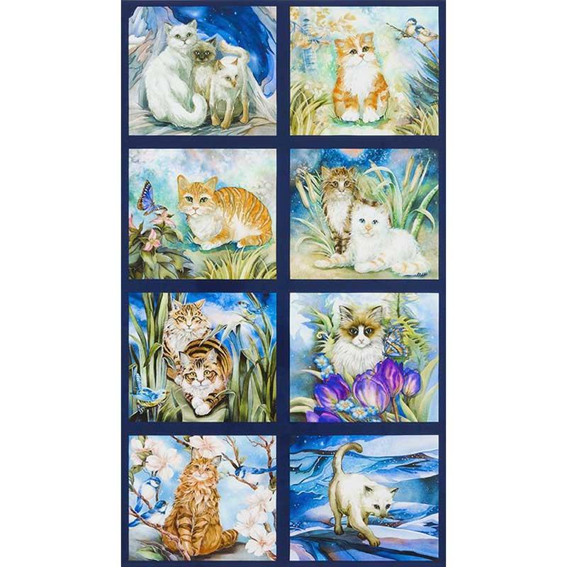 Be Pawsitive - Cats Garden DP Panel#153