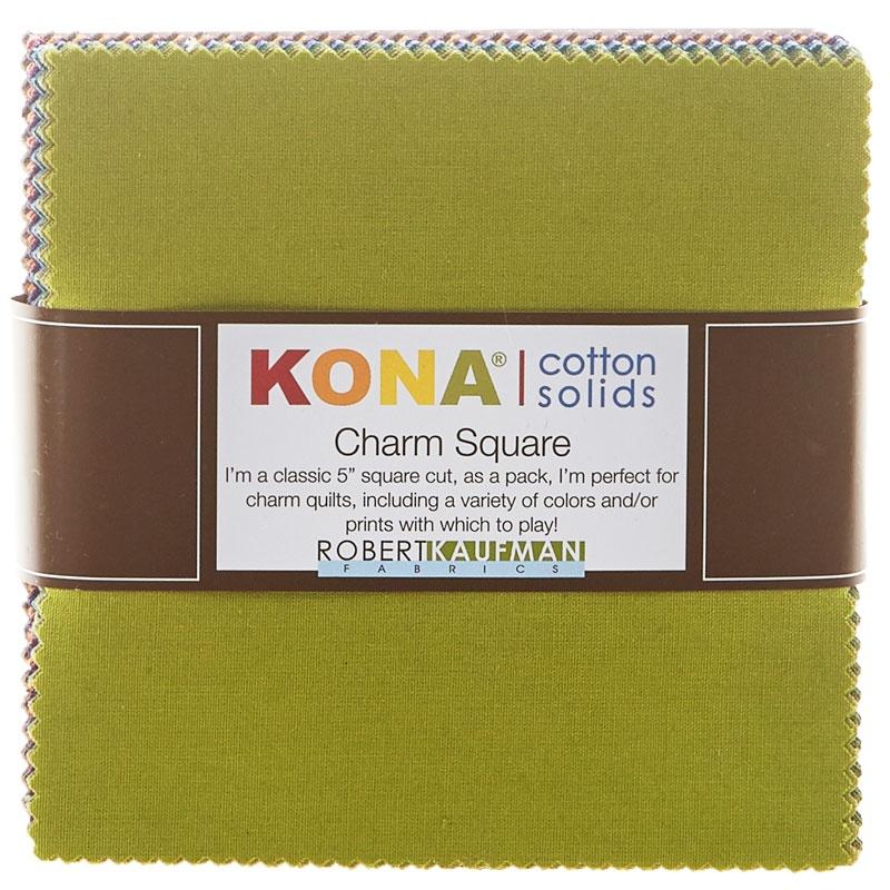 Kona Cotton - Dusty Colorstory Charm Pack 101 Pieces