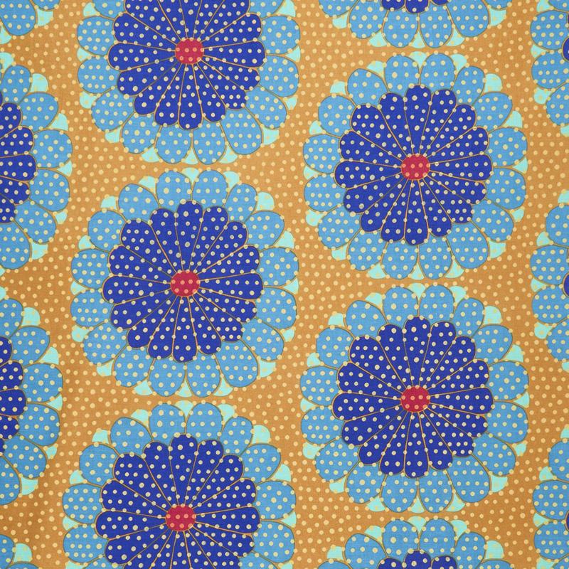 Fabric Cotton KFassett Artisan Kyoto Blue