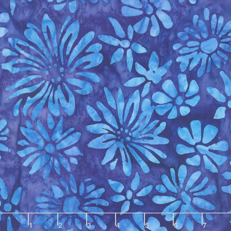 AMD-17764-4 Blue Bright Blooms