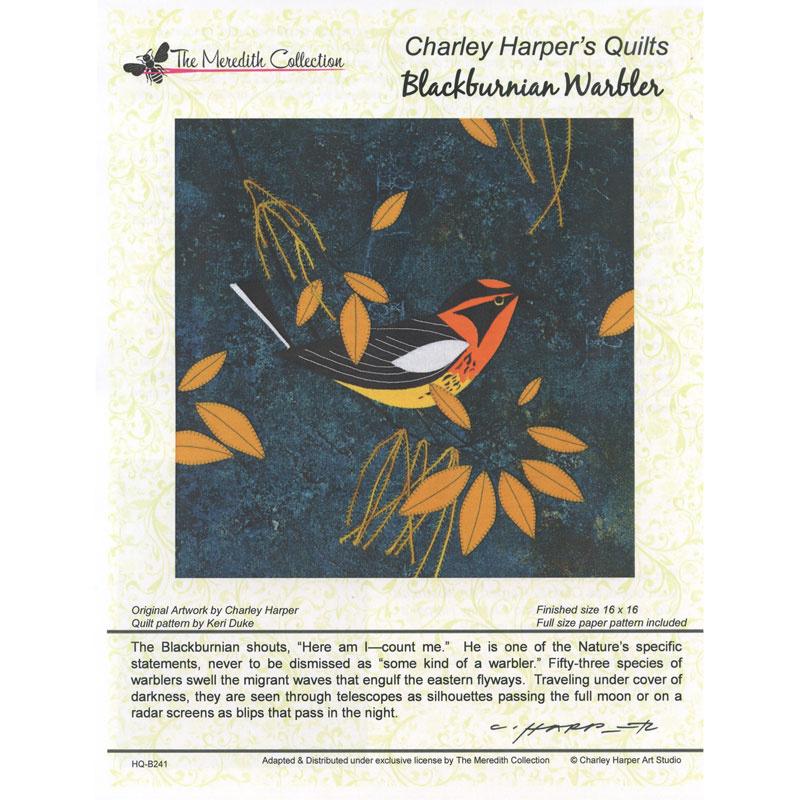 Blackburnian Warbler Pattern