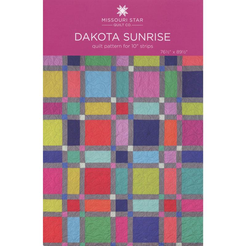 Dakota Sunrise Quilt Pattern by Missouri Star
