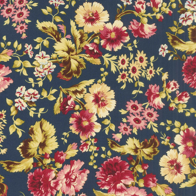 Bricolage - Large Floral Navy