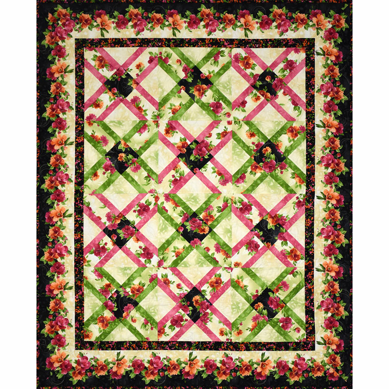 Paradise Lattice Quilt Kit