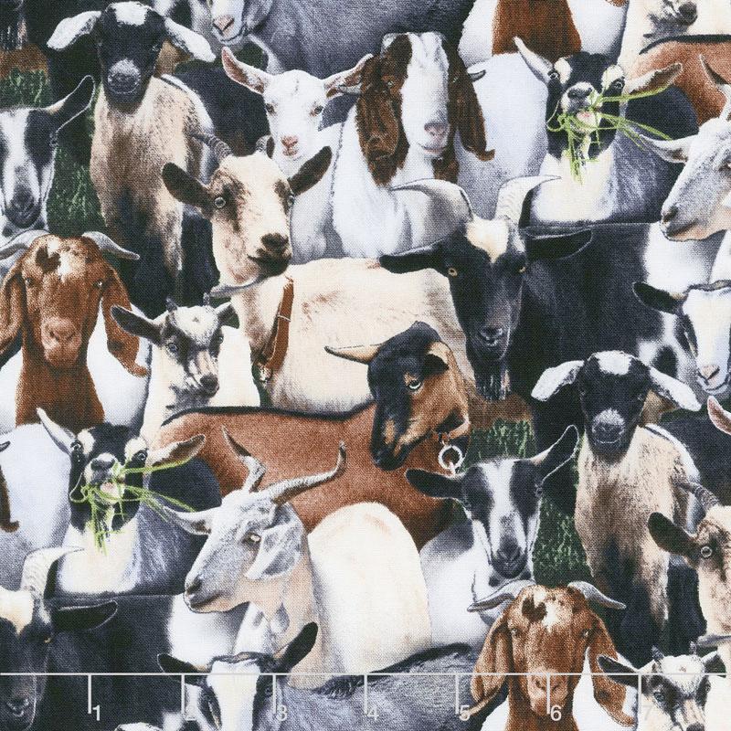Elizabeth's Studio - Farm Animals-Goats/Packed - 434E-BLK