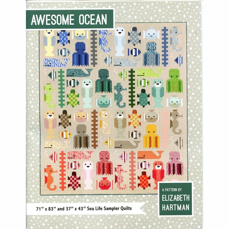 Awesome Ocean Pattern - Elizabeth Hartman
