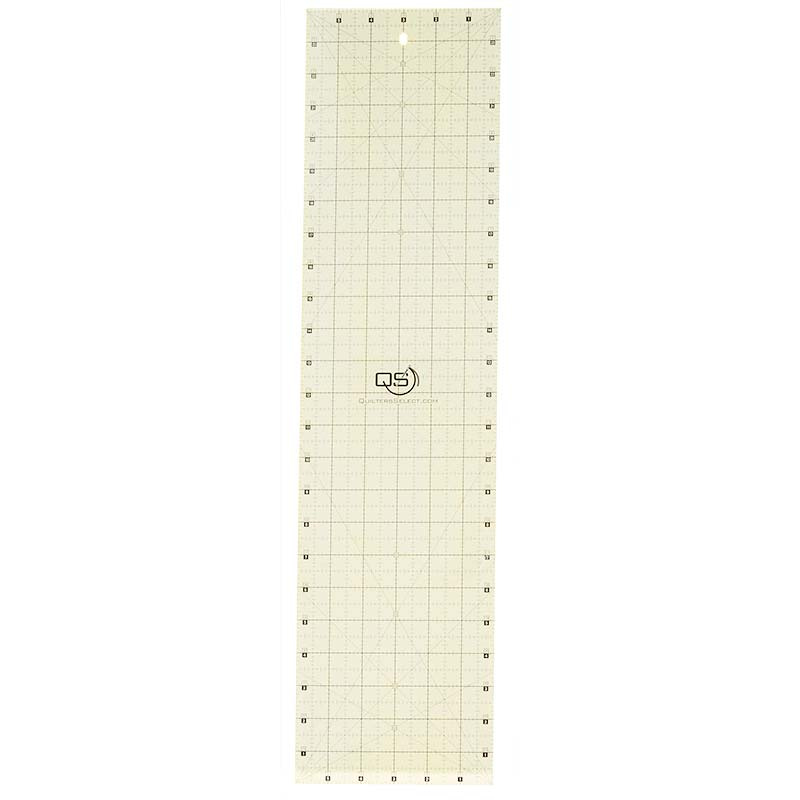 Quilters Select Non-Slip Ruler - 6 Inch x 24 Inch