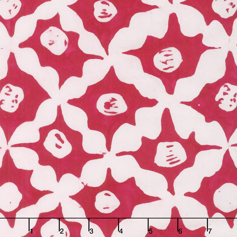 Kaffe Fassett Artisan Batik: Stars - Red