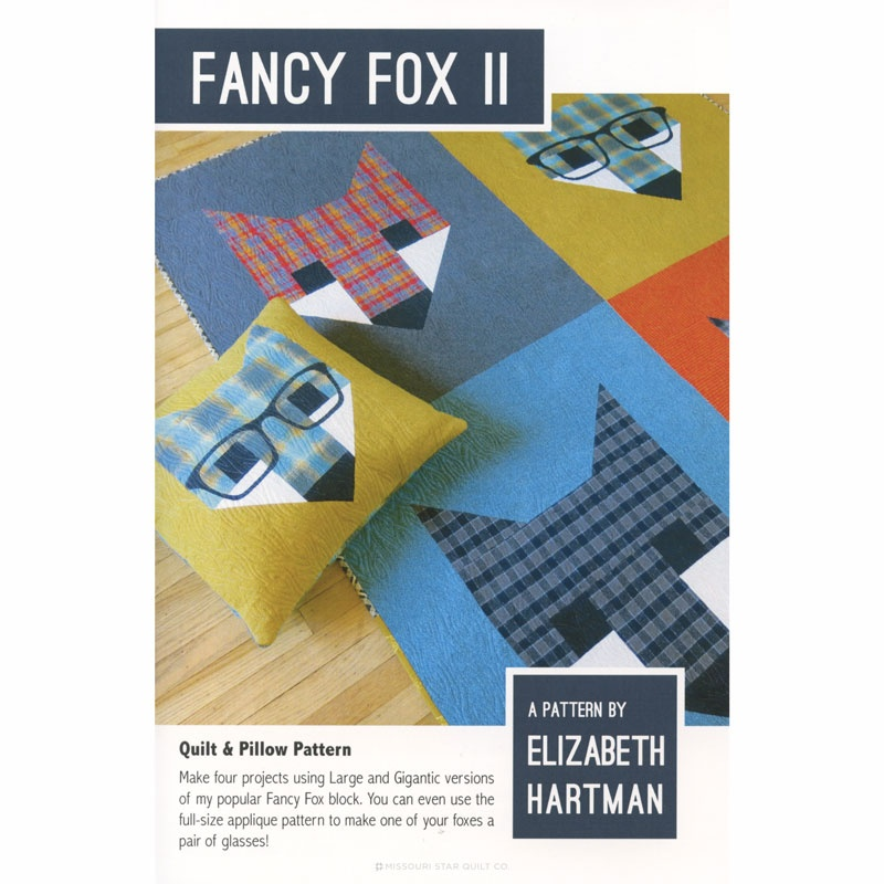 FANCY FOX II PATTERN EH017 Elizabeth Hartman