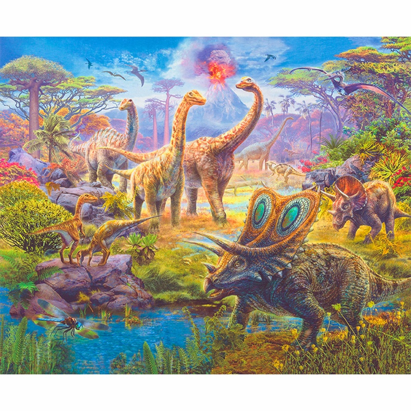 Picture This - Dinosaurs Adventure Digitally Printed Panel Y44