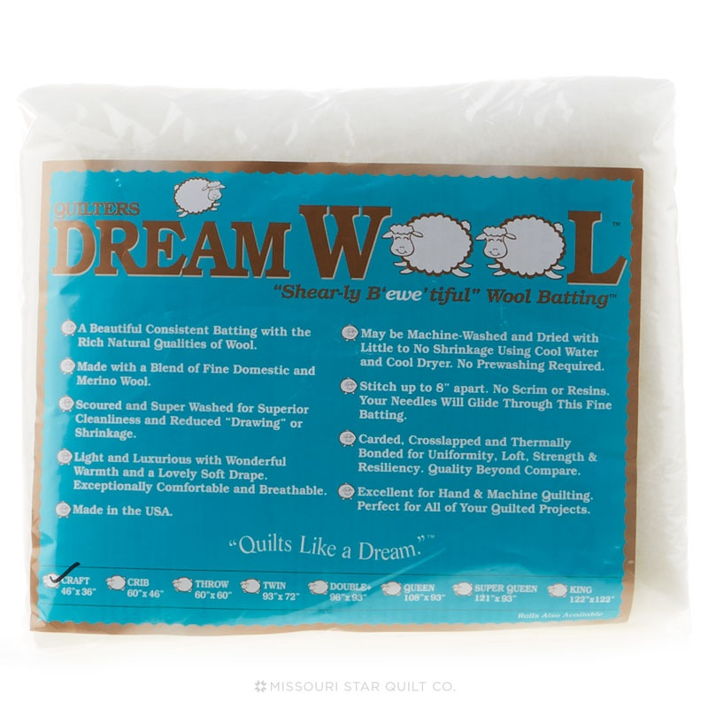 Quilter's Dream Wool Craft Batting